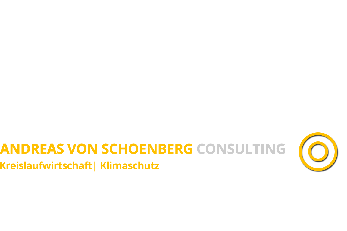 Andreas von Schoenberg Consulting - Renewable Energy │ Recycling │ Environmental Technology